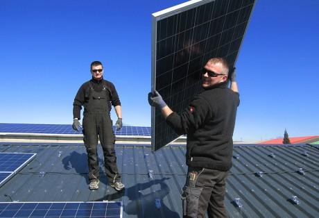 60 kWp-Anlage auf Tischlereibetrieb