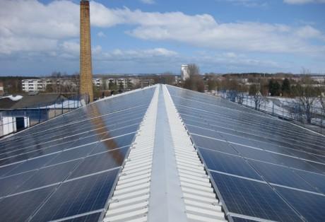 187 kWp-Anlage auf Agrargenossenschaft