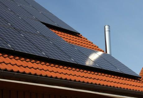 8 kWp-Anlage auf Hausdach